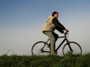 Riding a Bike is a Great way for Diabetics to Exercise.